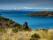 Paysages de L'Isla del Sol avec vue sur la Cordillère Royale