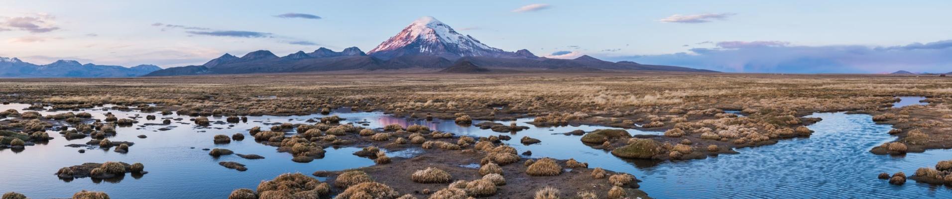 Volcan Sajama en Bolivie