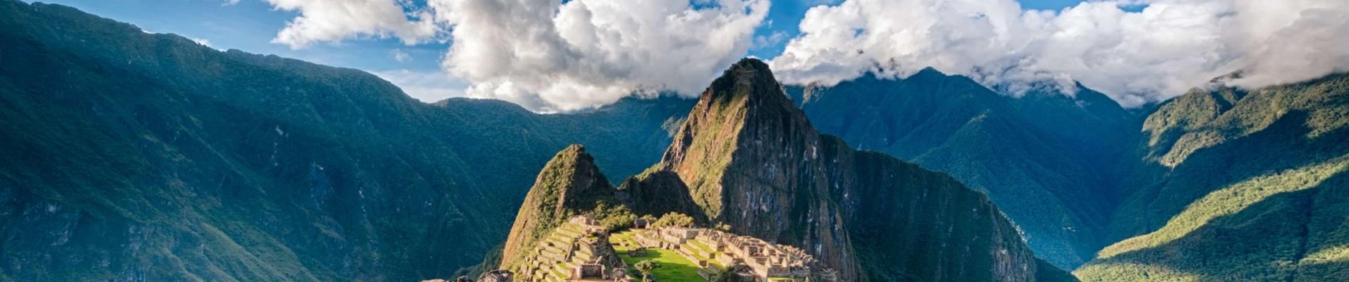 Panorama 360 sur le Machu Picchu, Pérou